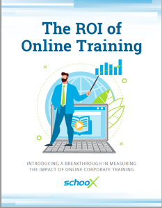 ROI of Online Training Ebook cover