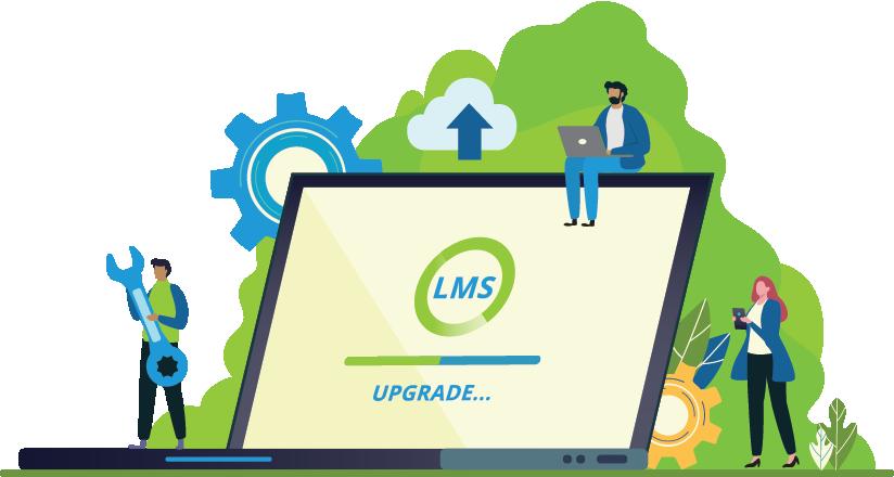 LMS loading image